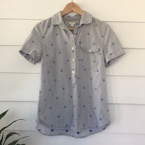 J Crew Sailor Blouse
